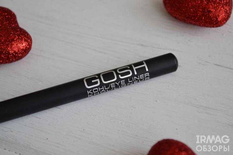 Карандаш для глаз GOSH Kohl Eyeliner (1,1 г) [черный]