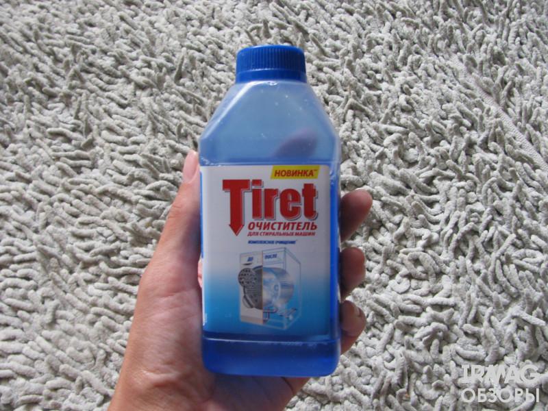 Очиститель для стиральных машин Tiret Комплексное очищение (250 мл)