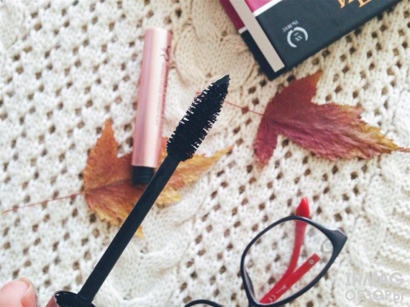 Тушь для ресниц Golden Rose Smokey Lashes Mascara Ультрадлина, черная (9 мл)