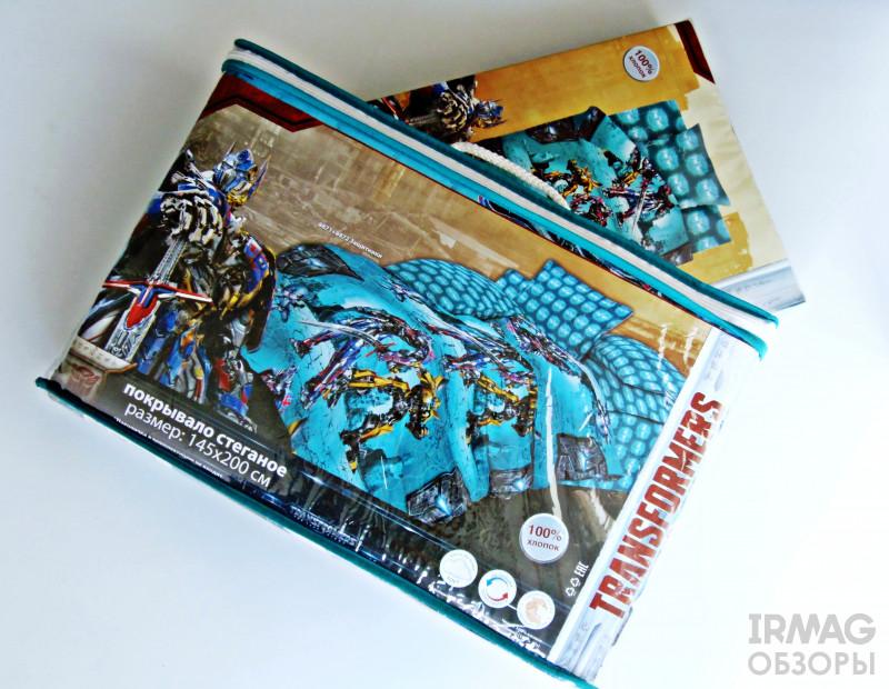 Покрывало ОТК Детское Непоседа Transformers Защитники (145х200 см)