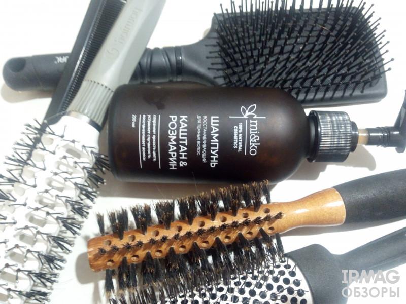 Шампунь Mi&Ko Каштан и Розмарин Восстанавливающий для темных волос (200 мл)