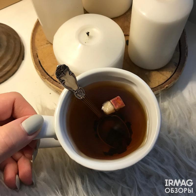 иван-чай с яблоком и корицей от Столбушино