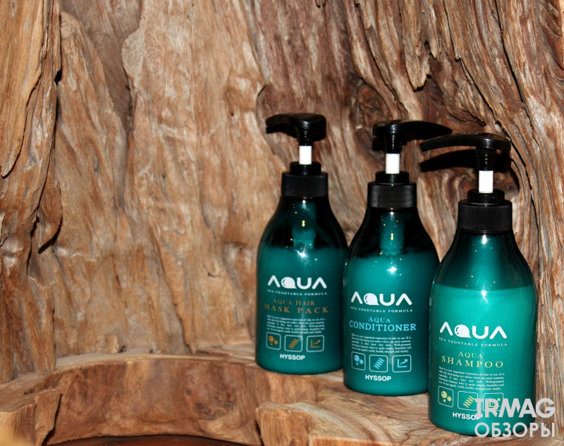 Шампунь для волос Hyssop Aqua Sea Vegetable Formula
