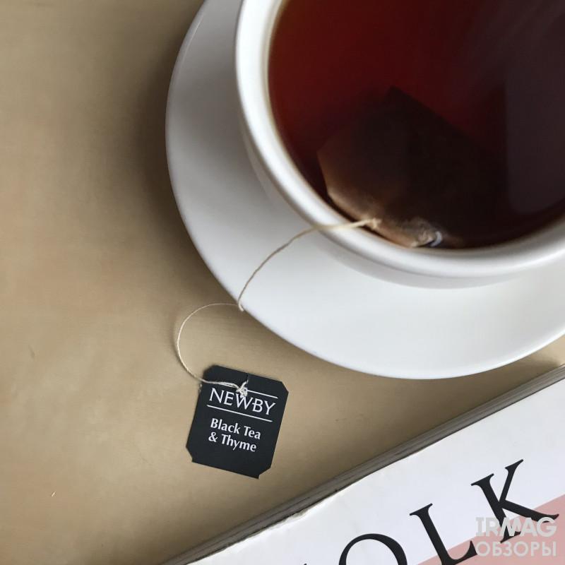 чай Newby Black Tea&Thyme