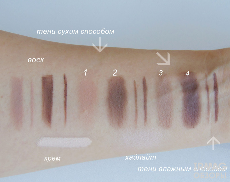 Палетка теней для бровей Makeup Revolution Ultra Brow Palette Fair to Medium