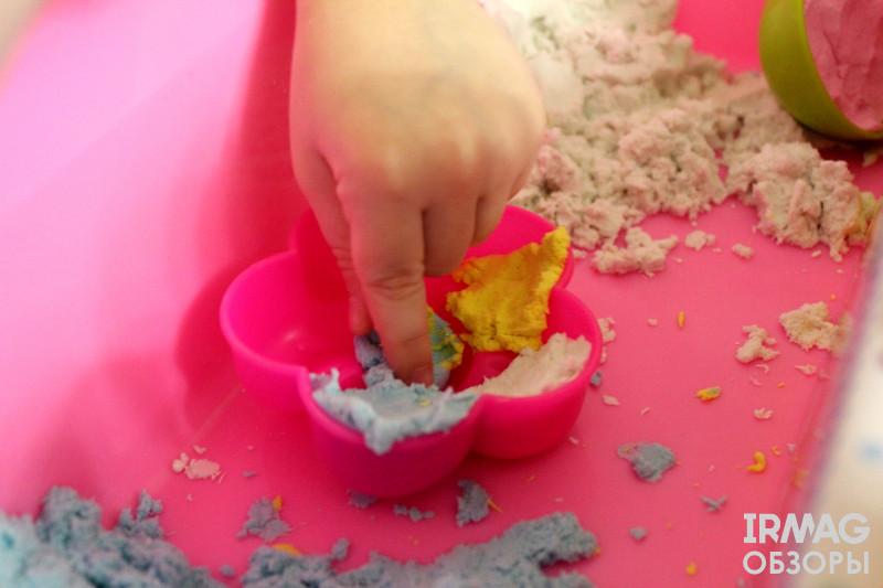Набор глины для творчества Angel Кафе Мороженое (4 цв. х 1,2 л)