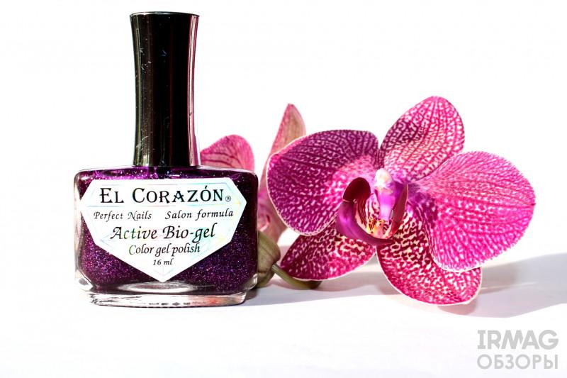 Био-гель El Corazon Active Bio-gel Large Hologram 423 (16 мл) - 504