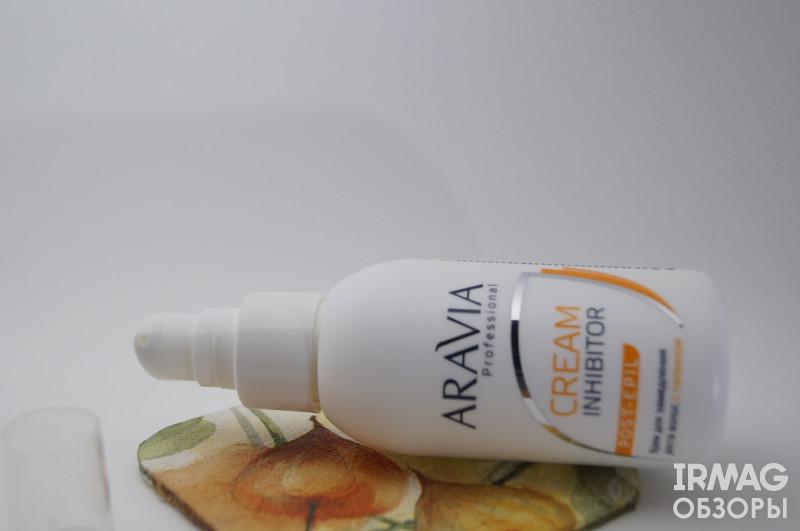 Отзыв на Крем для замедления роста волос Aravia Professional Cream Inhibitor с папаином (100 мл)
