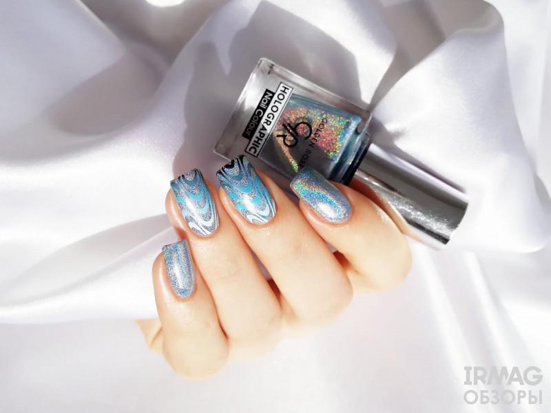 Лак для ногтей Golden Rose Holographic Nail Colour (10,5 мл) - 06