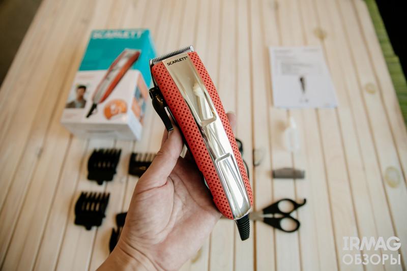 Машинка для стрижки волос Scarlett SC-HC63C15