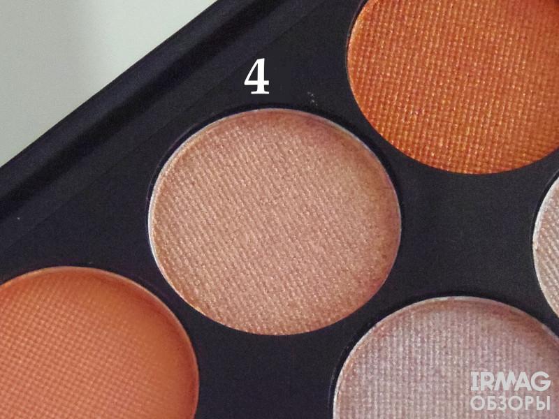 Палетка минеральных теней для век Sleek I Divine Peach Perfect (12x1,1 г)