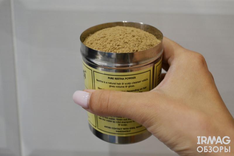 Маска-порошок для волос Khadi Reetha Pulver Мыльный орех (150 г)