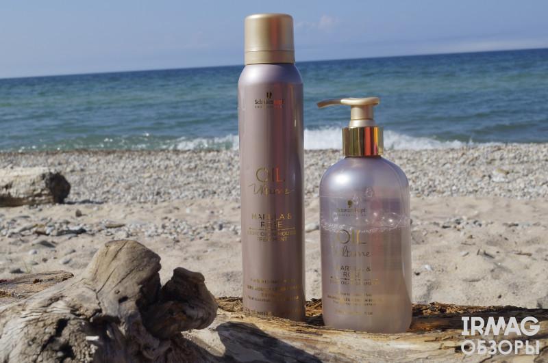 Обзор на серию средств для тонких волос Oil Ultime от Schwarzkopf
