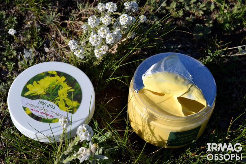 Маска для волос Levrana Natural Сибирские травы (250 мл)