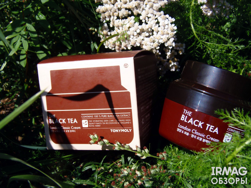 Крем для лица Tony Moly The Black Tea London Classic Cream (60 мл)