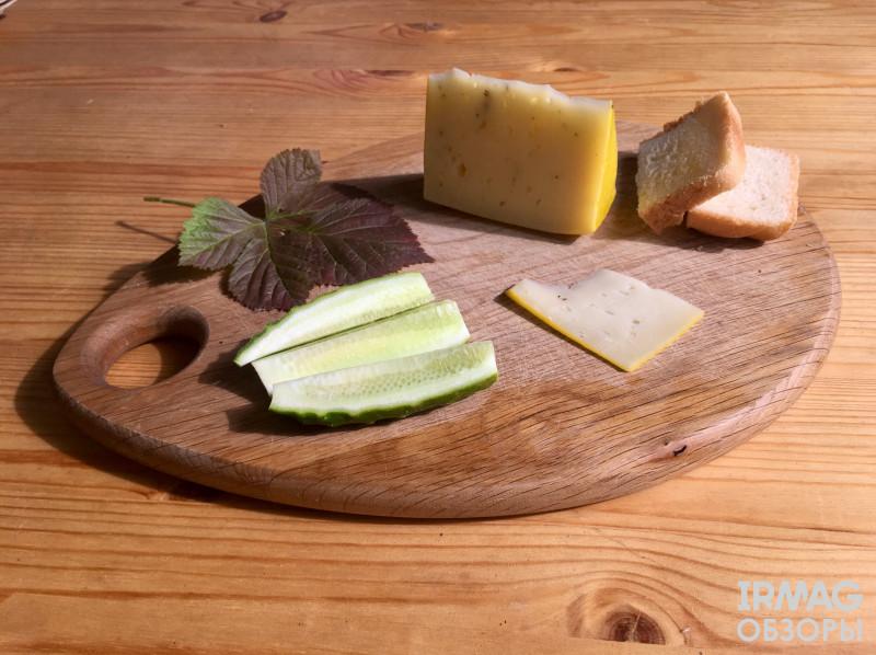 Иркутский сыроваръ сыр качотта досточка