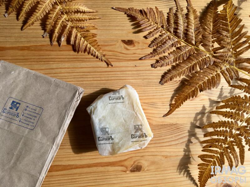 Иркутский сыроваръ сыр качотта  упаковка