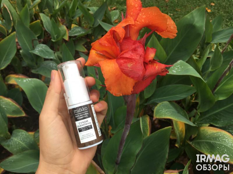 Шампунь сухой Mi&Ko для темных волос ООО МиКо цветы