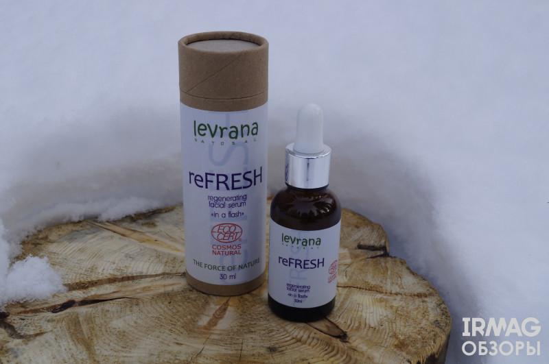Обзор на сыворотку для лица Levrana Natural Регенерирующую