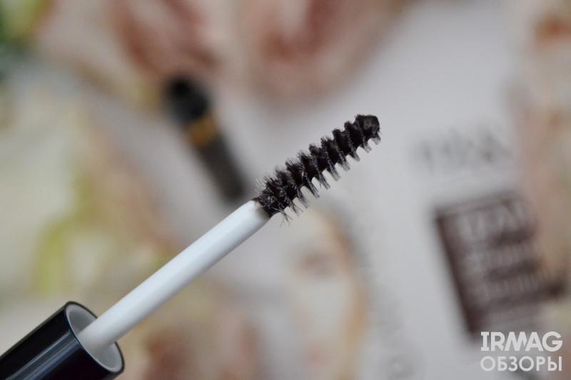 Гель для бровей и ресниц Art-Visage Fix&Care (4,3 мл) - темно-коричневый