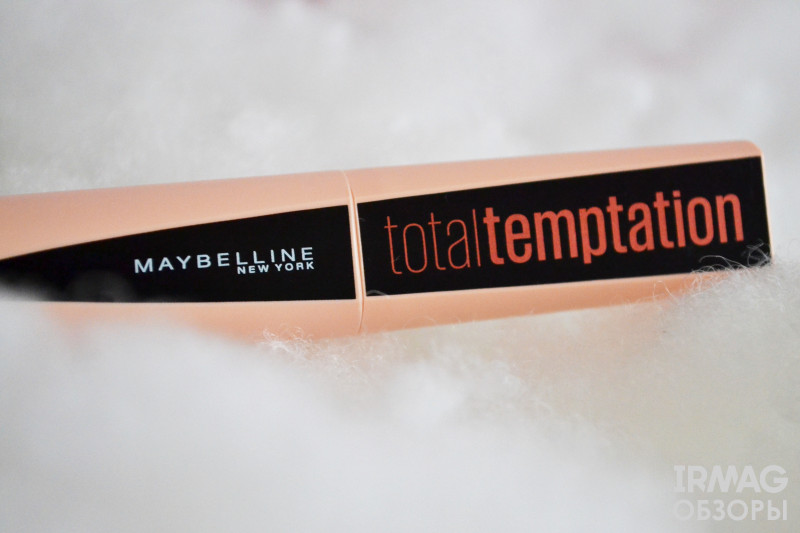Термотушь для ресниц Maybelline Total Temptation Черная (8,6 мл)