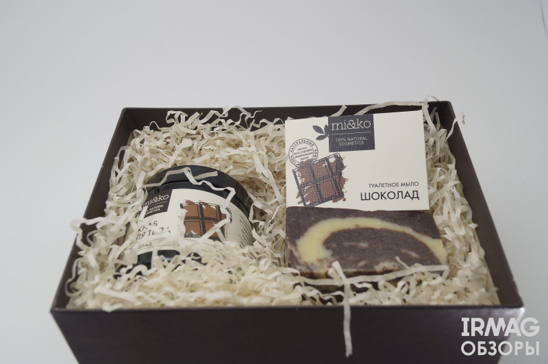 обзор на набор подарочный Mi&Ko Сладкая радость