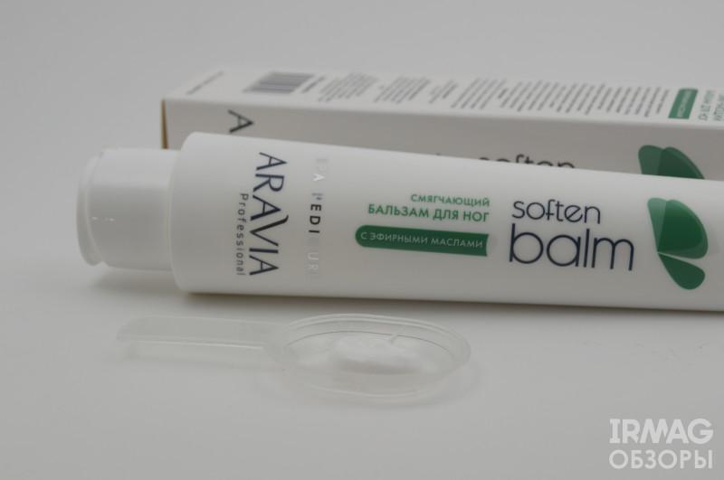 обзор на бальзам для ног Aravia Professional Soft Balm (смягчающий)