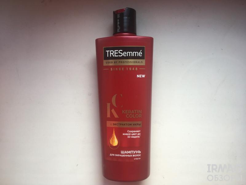 шампунь для волос Tresemme Keratin Color для окрашенных волос