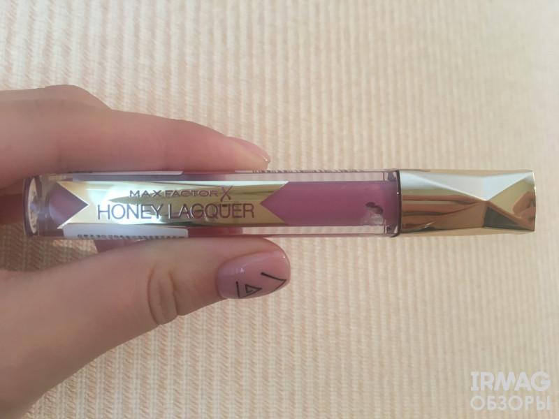 помада для губ Max Factor Honey Lacquer Gloss лаковая