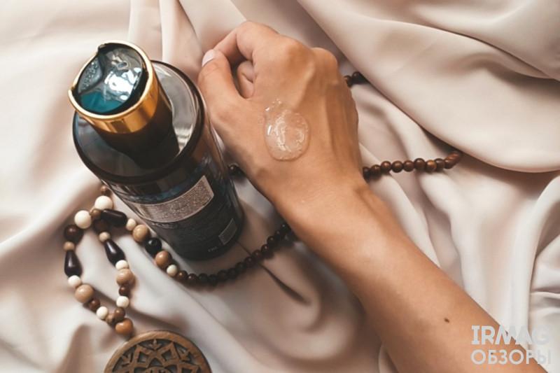 Скраб для душа Zeitun Wellness Ритуал увлажнения С голубым лотосом и минералами Мертвого Моря (200 мл)