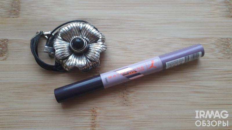Тени-карандаш для век Maybelline x Puma двусторонние (0,8 мл) - 02 Фиолетовый