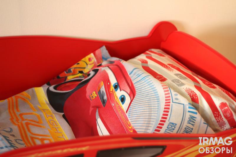 Постельное белье ОТК 1,5-спальное Детское Тачки Соревнования