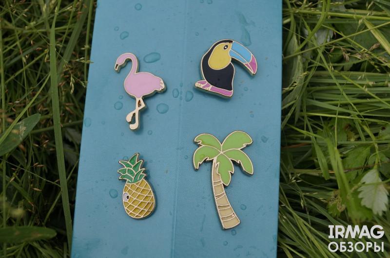 Обзор на набор Fa Ритмы острова Гавайи Франжипани и ананас