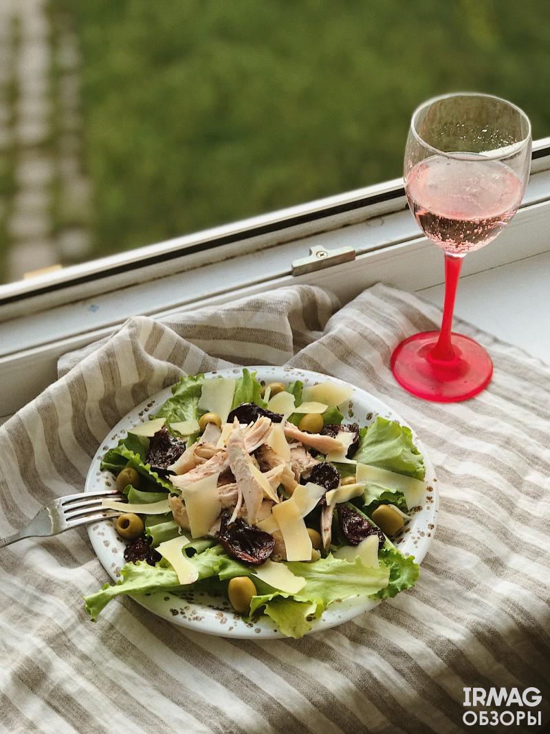 качотта идеальна к итальянским салатам