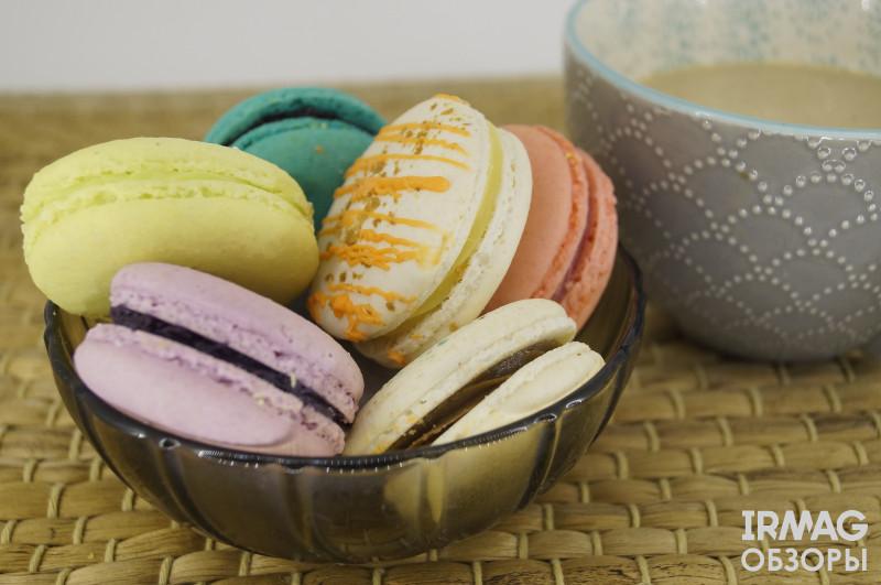 обзор на микс печенье Макарон Macarons 38 №3 (12 шт)