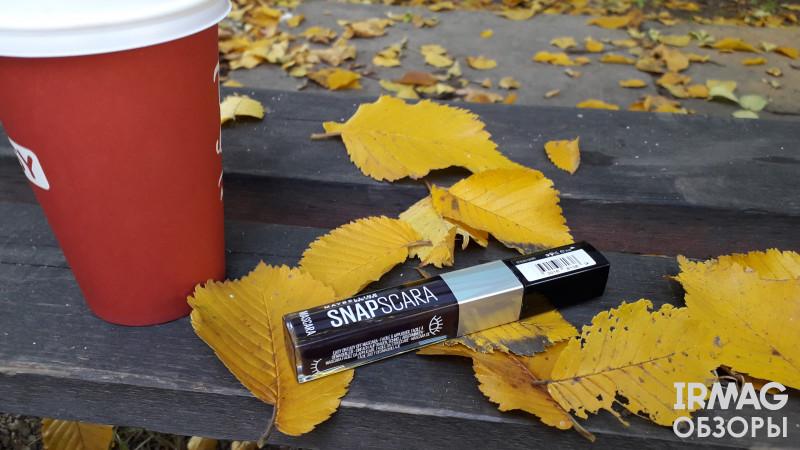 Тушь для ресниц Maybelline Snapscara 02 Черная вишня (9,5 мл)
