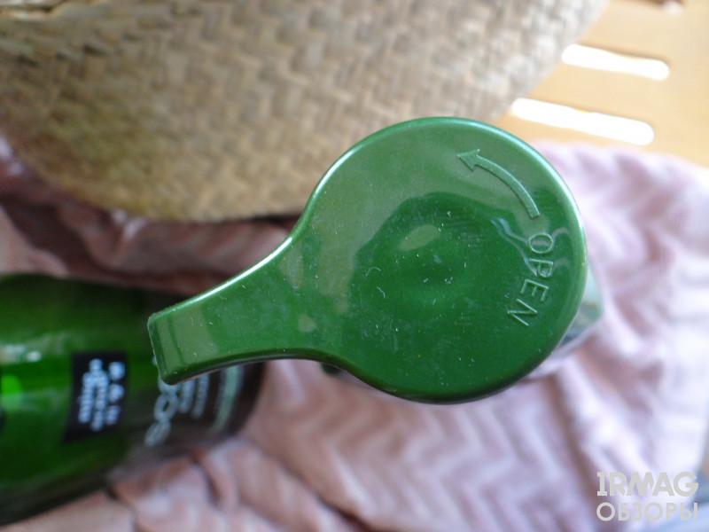 у кондиционера зеленый дозатор