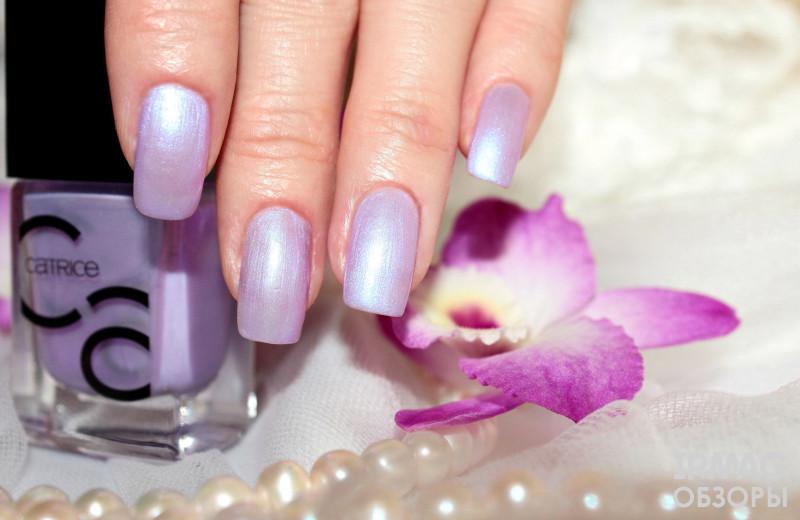 Лак для ногтей Catrice IcoNails Gel Lacquer (10,5 мл) - 71 I Kinda Lilac You