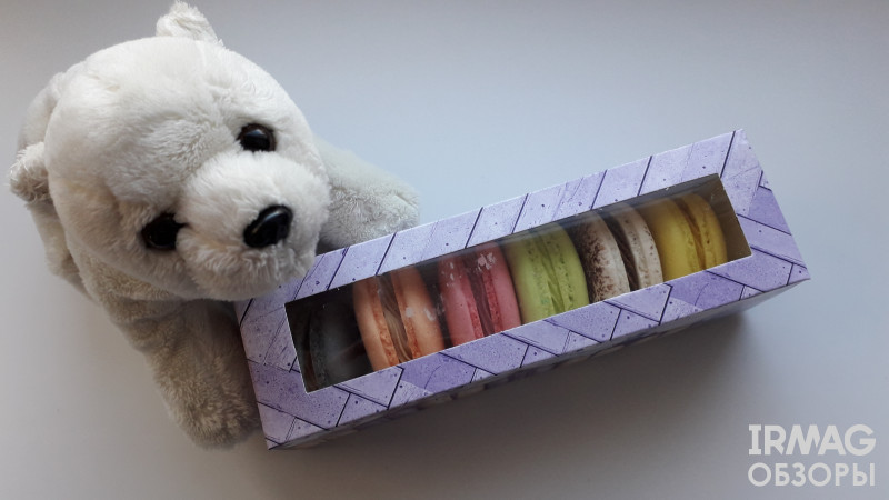 Набор микс печенье Макарон Macarons38 №1 (6 шт.)