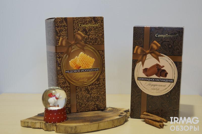 обзоры на наборы от Compliment №1036 Медовое искушение и №1035 Шоколадное наслаждение