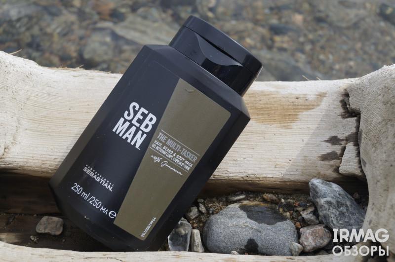 обзор на шампунь для волос, бороды и тела Sebastian Professional Seb Man The Multitasker 3 в 1 и крем для волос и бороды Got2B PhenoMENal