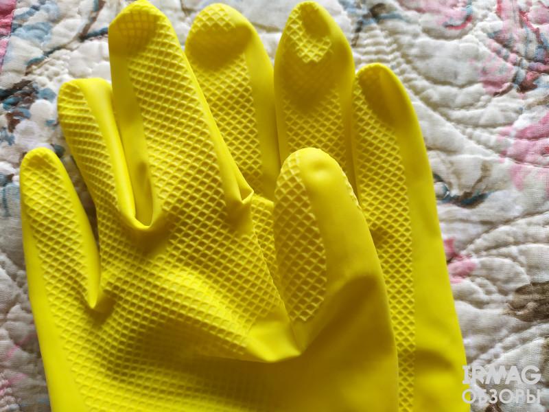 Перчатки хозяйственные Фрекен Бок Суперчувствительные - Размер S