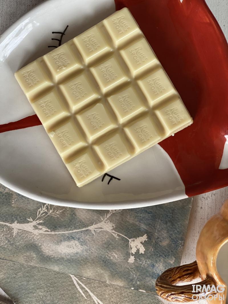 Шоколад белый Ritter Sport Манго и маракуйя (100 г)