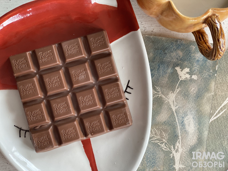 Шоколад молочный Ritter Sport Медовый орех с йогуртом (100 г)