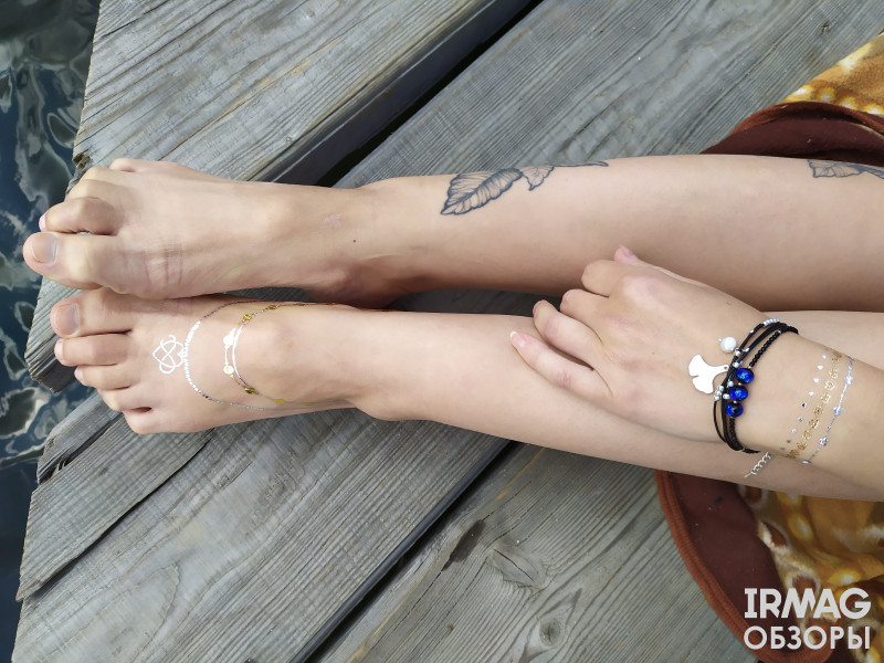 Тату для тела Dizao Style Tatto Flash Jewels