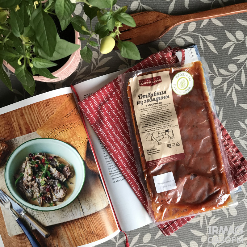 Готовим отбивные из говядины в маринаде от Ангарского мясокомбината