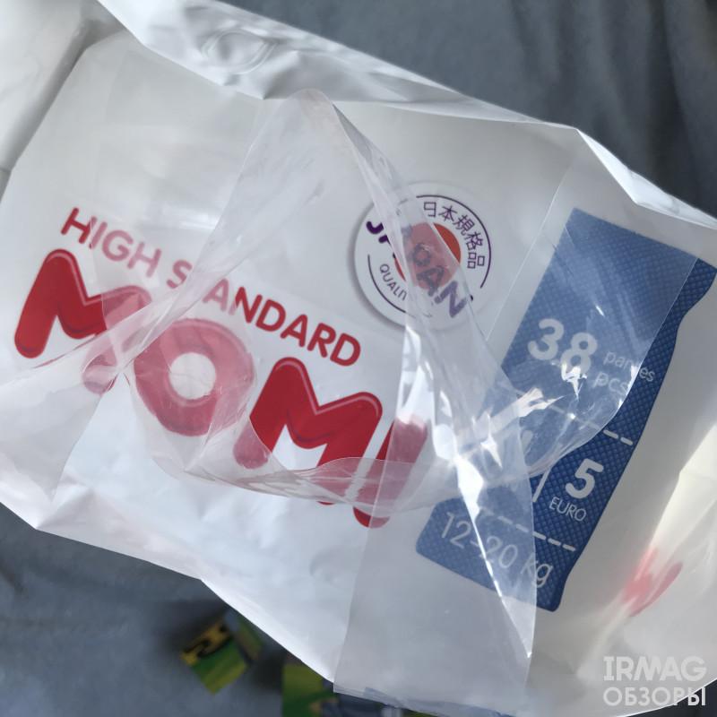 Обзор трусиков Momi High Standard