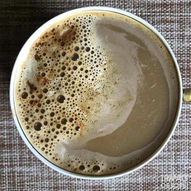 только что завареный кофе