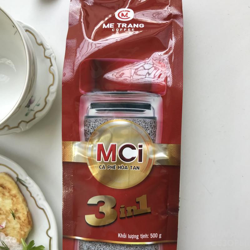 Обзор растворимого кофее 3 в 1 Me Trang MCI