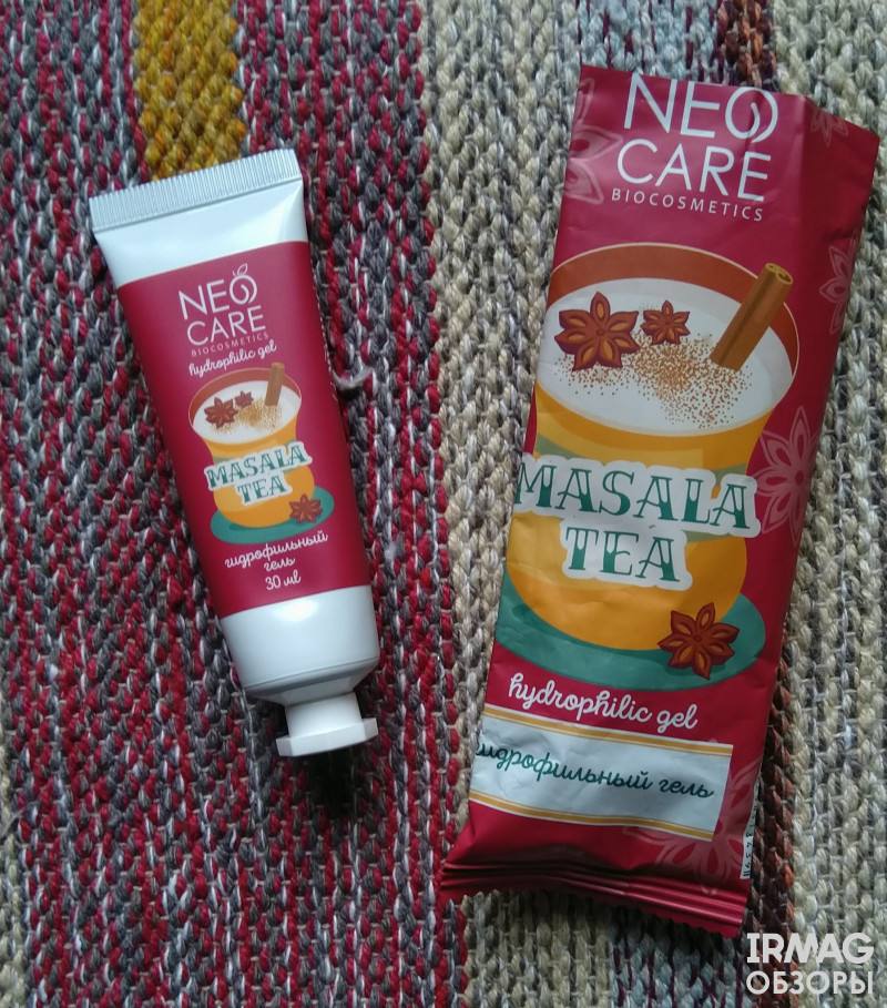 Обзор на Гидрофильный гель для умывания Levrana Neo Care Masala Tea